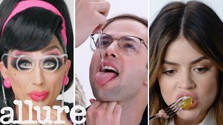 The Try Guys, Bianca Del Rio & More Try 9 Things They've Never Done Before | Allure