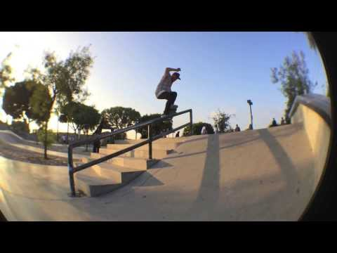 "Few Iphone clips with Aaron ""Ajax"" Johnson at LBC Park"