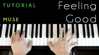Muse/Michael Buble - Feeling Good (piano tutorial & cover)