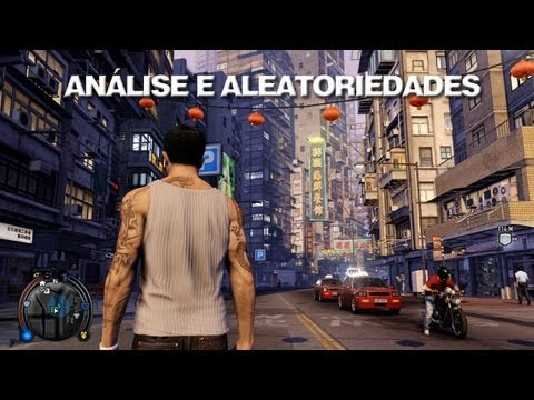 Sleeping Dogs - An?lise, Massagem, Corrida e Roubo