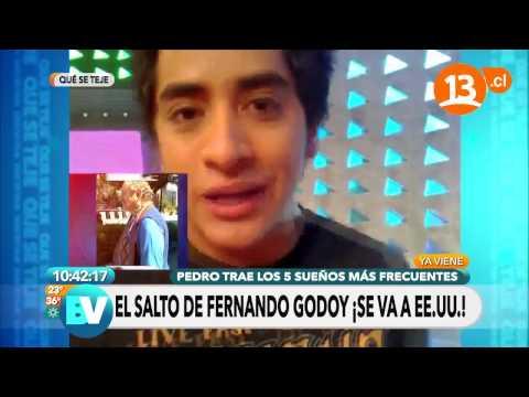 Fernando Godoy de exportación | Bienvenidos