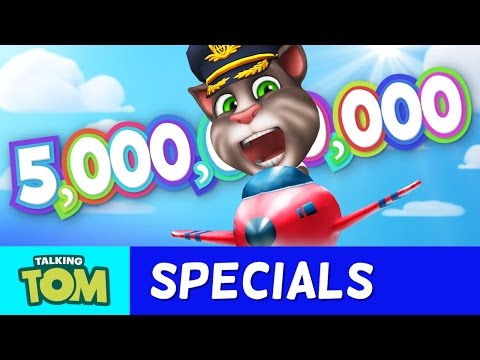 5 Billion Times More FUN (Talking Tom And Friends Apps By Outfit7)