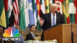 Full Video: President Trump's Speech from Saudi Arabia