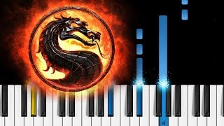 Mortal Kombat Theme - EASY Piano Tutorial