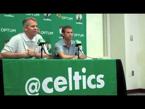 Danny Ainge's Doc Rivers trade press conference (Part 2)