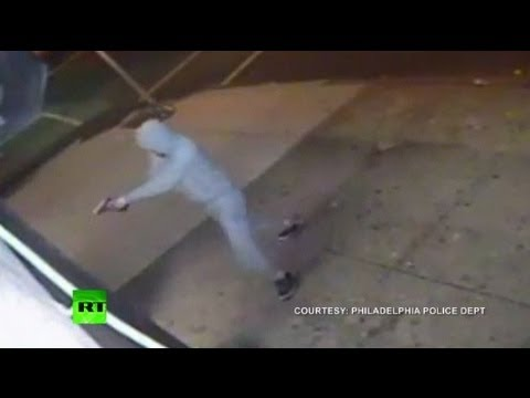 Dramatic CCTV: Man shoots into Asian food store in Philadelphia, wounds 3