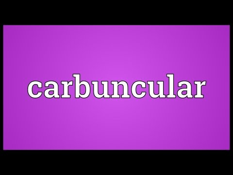 Header of carbuncular