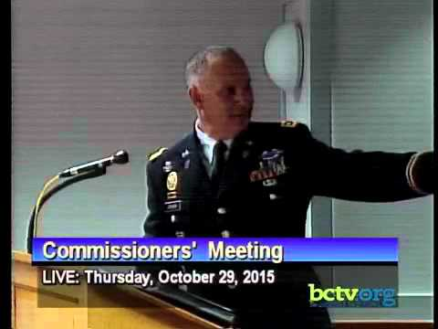 County of Berks Commissioners' Meeting. October 29th, 2015