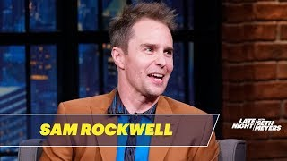 Sam Rockwell Took a SoulCycle Class with Usher