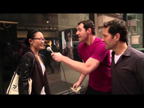 Billy on the Street: Would You Have Sex With Paul Rudd?