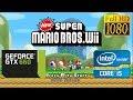 New Super Mario Bros Wii [Dolphin 5.0] | Medium   1080p | GeForce GTX 660 2GB