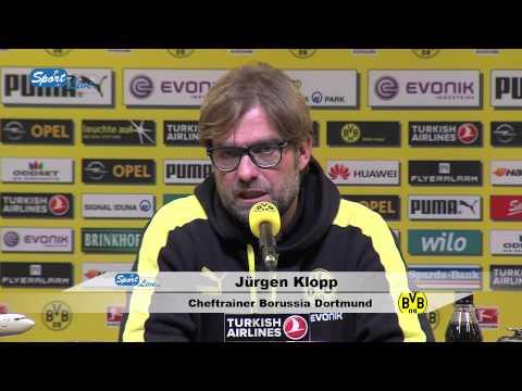 Pressekonferenz Bor. Dortmund - Bayern München 0:3