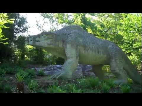 Crystal Palace Park, London: The Dinosaurs of Waterhouse Hawkins