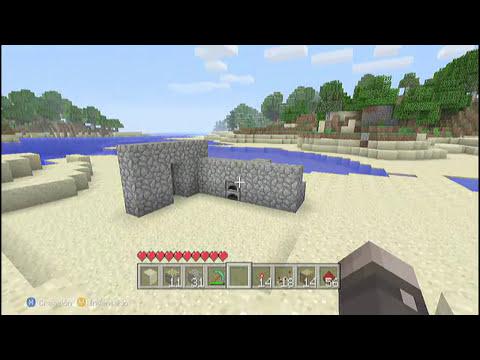 MineCraft Xbox360 - Tutorial Activar Mecanismos Con Un Horno