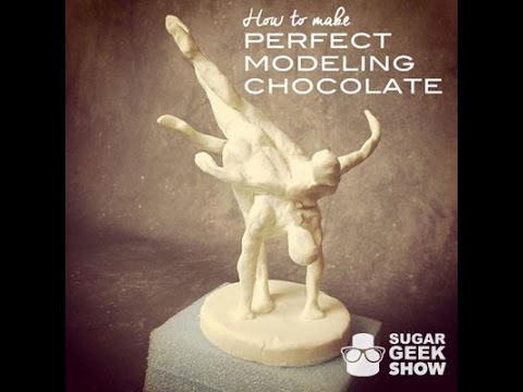 How To Make Modeling Chocolate Tutorial