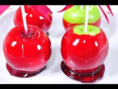 แอปเปิ้ลเคลือบน้ำตาล Candy Apple
