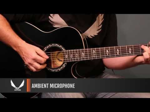 Dean Guitars product Demo - Dean Exhibition Ultra Acoustic/Electric with USB