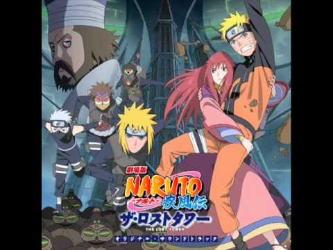 Naruto Shippuuden Movie 4: The Lost Tower Ost - 01. Hundred Thunderclaps (hyakurai) video