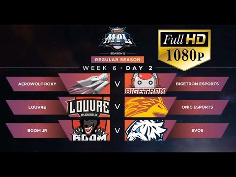 🔴[LIVE MPL- FULL HD 1080P] LOUVRE VS ONIC ESPORTS | MPL-ID S2 Regular Season Minggu 6 Hari 2
