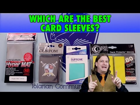 A Guide To The Best Card Sleeves: KMC Hyper Mat. Ultimate Guard. Legion. and Ultra Pro Eclipse