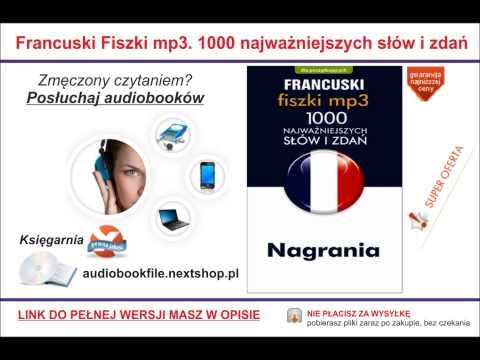 NAUKA FRANCUSKIEGO - 1000 NAJWAŻNIEJSZYCH SŁÓWEK I ZDAŃ - PROGRAM + NAGRANIA MP3 FISZKI