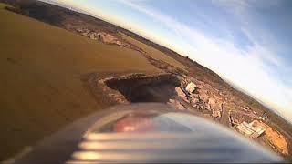 FPV testovací let nové Bety 1400