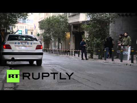 Greece: Bomb blast leaves central Athens in lockdown