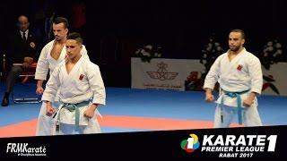 FRMK.TV : MALE Team KATA of Morocco Karate1 Premier League Rabat 2017