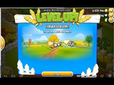 Hay Day Gameplay : Level 100