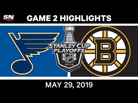 NHL Highlights | Blues Vs. Bruins, Game 2 – May 29, 2019