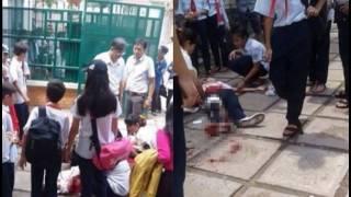 Nữ sinh lớp 9 mang theo hung khí lên trường rồi đâm bạn nữ cùng tuổi do ghen tuông