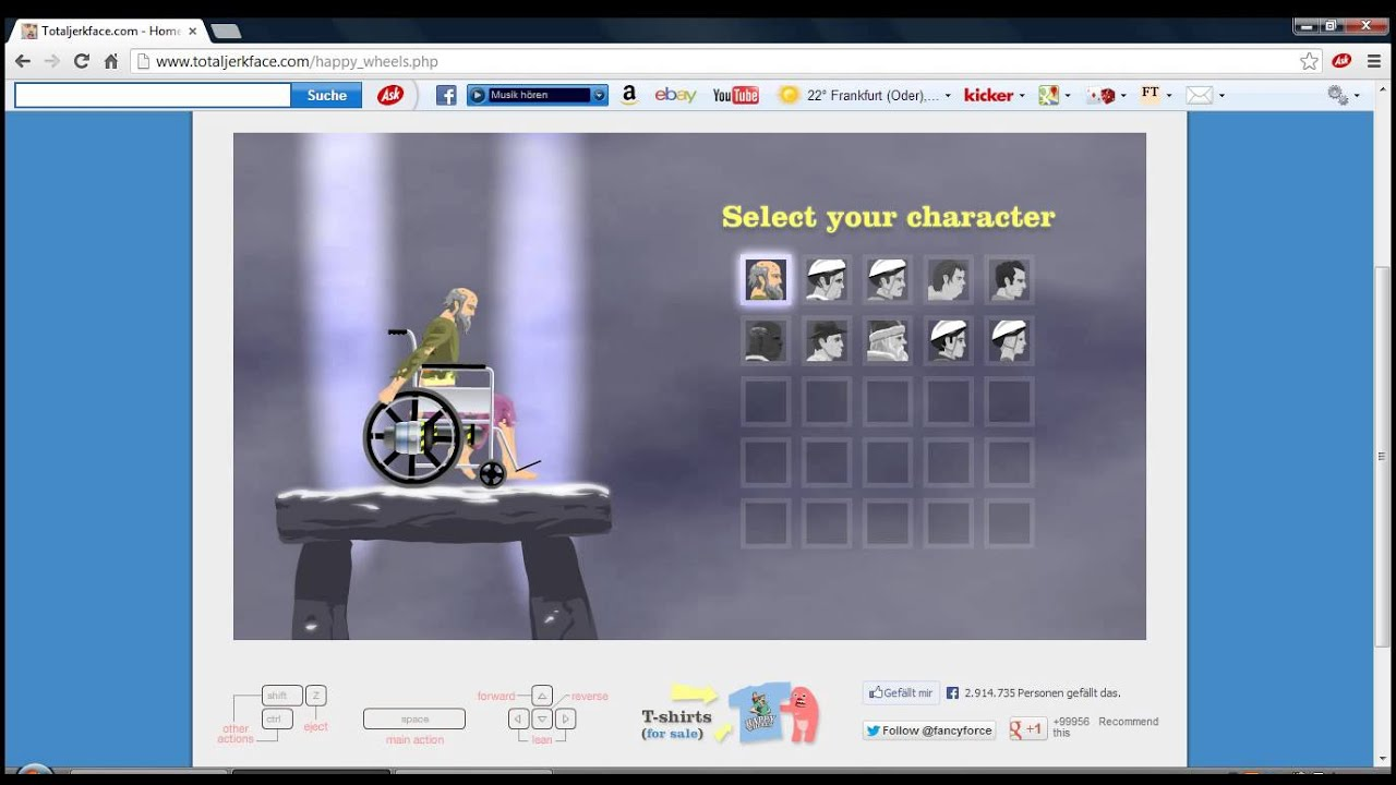 happy wheels kostenlos download