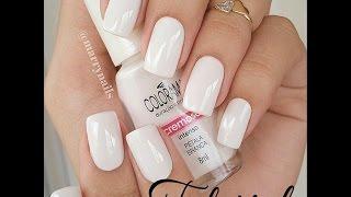 Como esmaltar as unhas de branco sem manchar