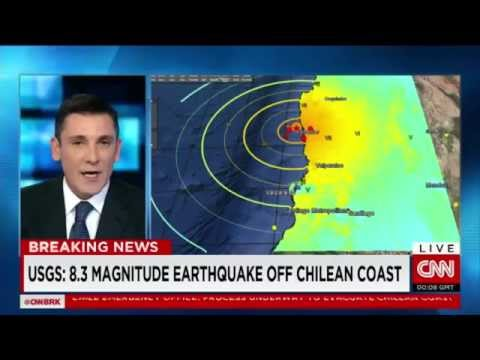 Earthquake : A Powerful 8.3 Magnitude Earthquake strikes off the Coast of Chile (Sept 16, 2015)