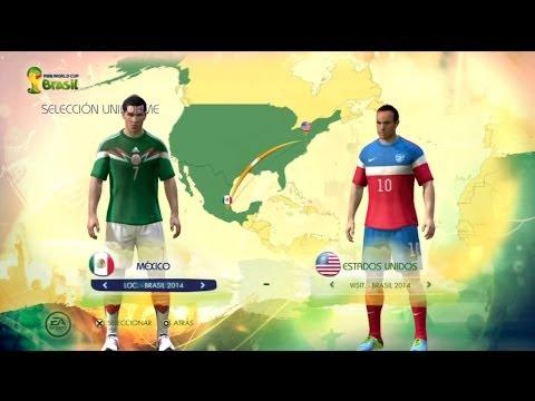 FIFA 2014 World Cup Brazil DEMO Mexico vs USA