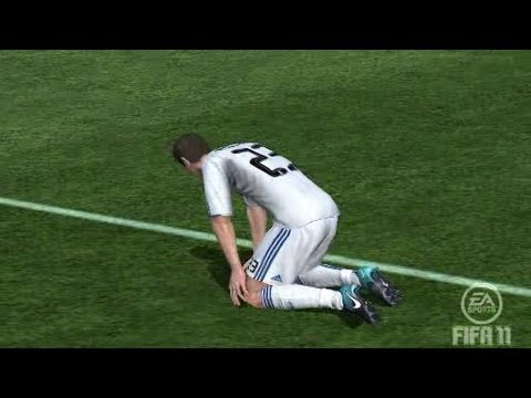 The reason Van der Vaart left Real Madrid (FIFA 11)
