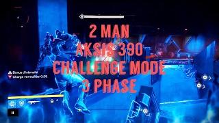 Destiny - 2 Man Aksis 390 Challenge Mode ! [3 phase]