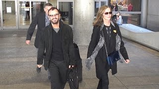 Ringo Starr And Wife Barbara Bach Look Half Their Age Arriving In LA