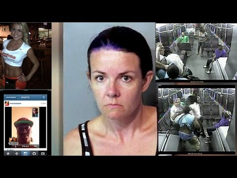 Woman Has Sex With Daughter's Boyfriend, Bus Fight, Nfl Sext Scandal video