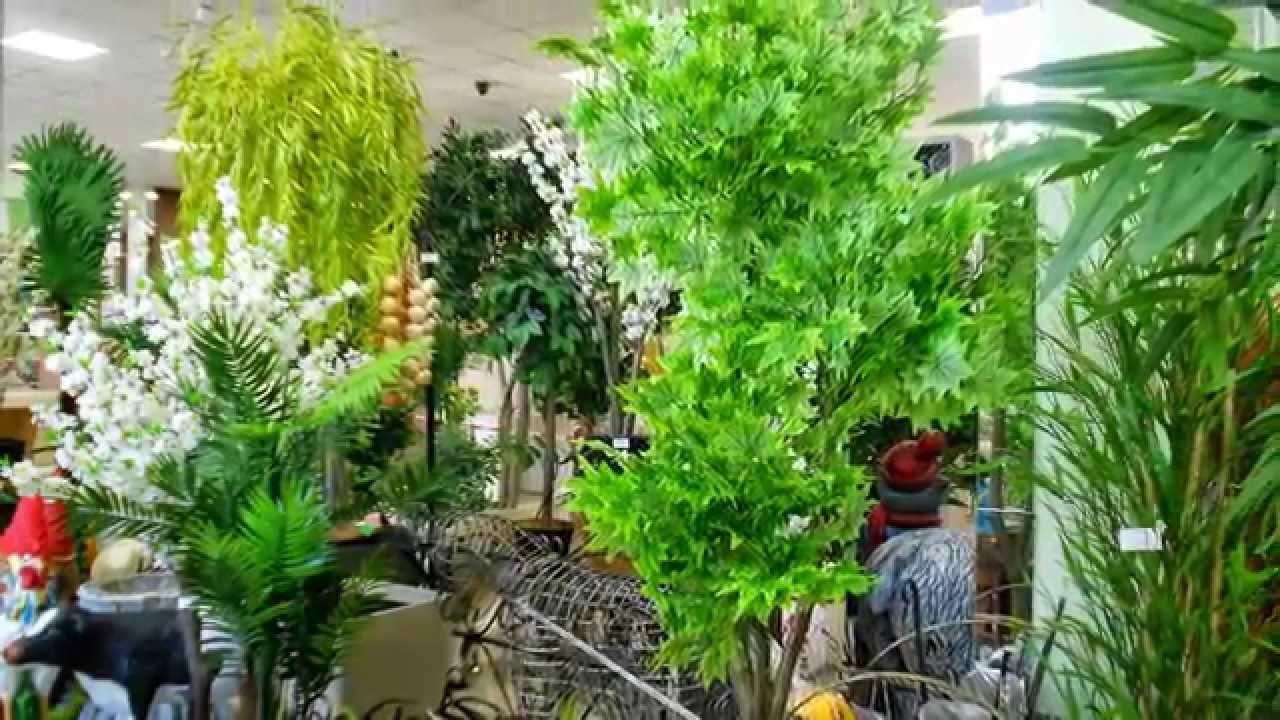 Искусственные растения для интерьера квартиры