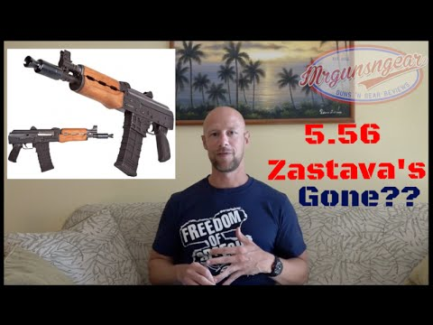5.56/223 Zastava AK Rifles No Longer Being Produced! (HD)