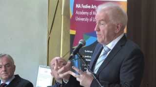 Launch of MA in Festive Arts at Irish World Academy of Music & Dance - 29/04/13