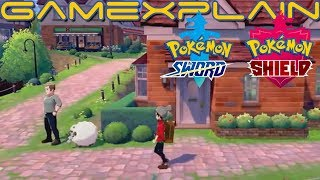 Pokémon Sword & Shield - Tour of the First Town (No Commentary!)