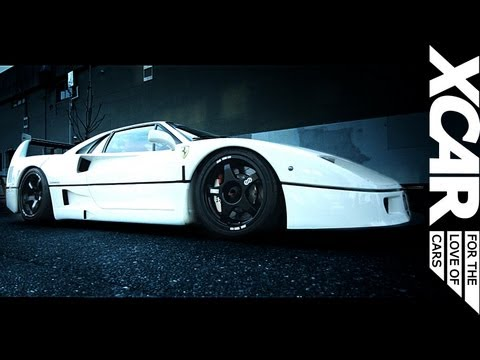Custom Ferrari F40, Liberty Walk - XCAR