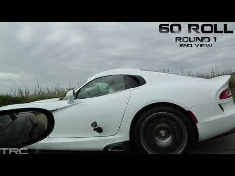 2013 SRT Viper vs C6 Z06 and Ford GT500 - All American Battle