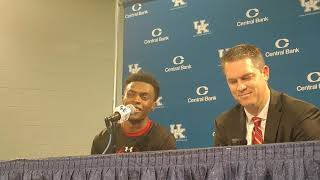 VMI's Bubba Parham Talks about Shooting the Lights Out in Rupp Arena