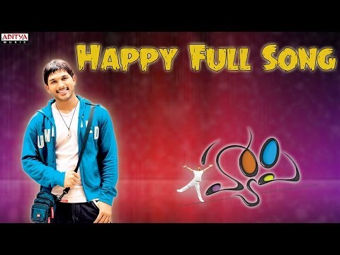 Happy Full Song II Happy Movie II Allu Arjun Genelia DSouza
