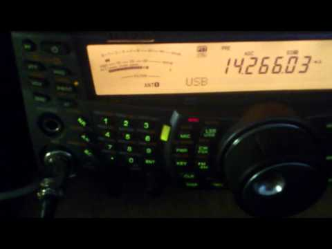 Short QSO with New Zeland ZL3JAS/m on 14MHz band USB