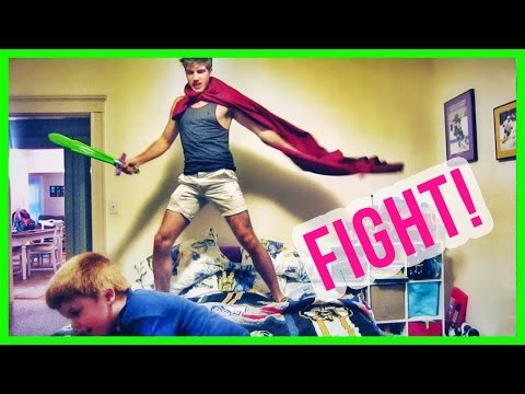 ATTACKING MY BROTHER!
