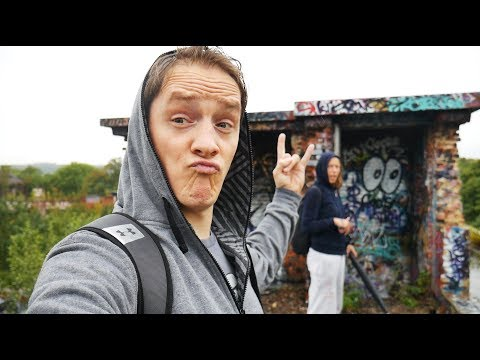 Visiting A Creepy Abandoned Fort In Belgium! URBEX!